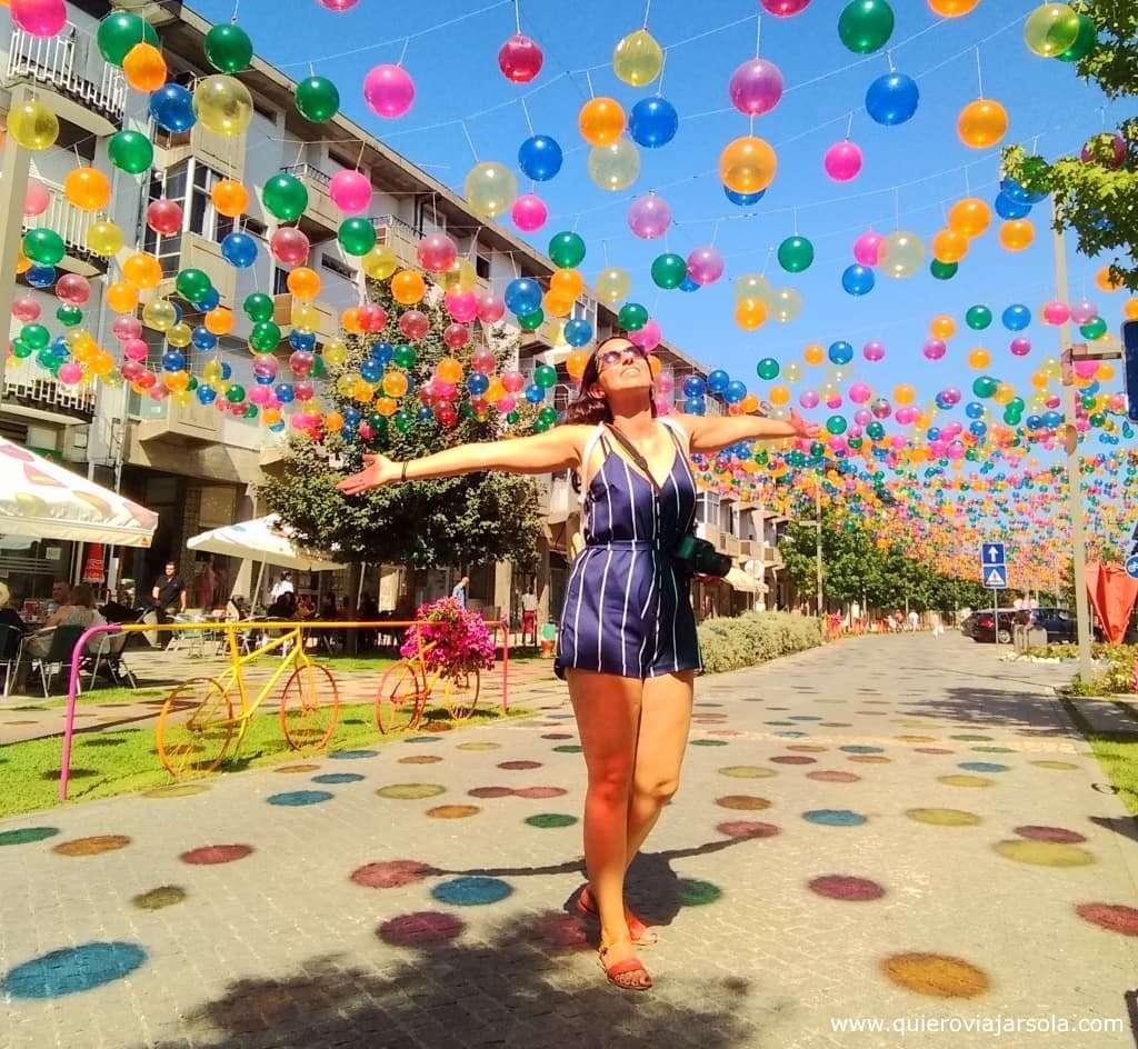 Águeda, globos de colores