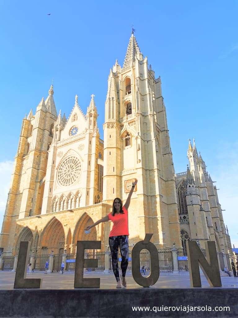 Camino Francés, Catedral de León