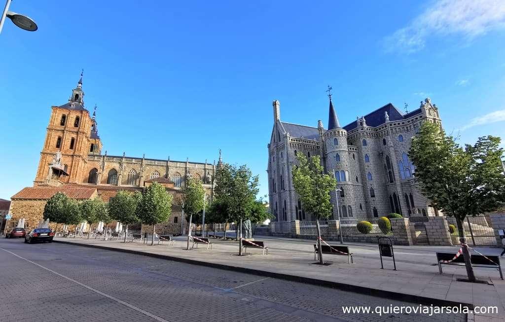 Camino Francés, Catedral y Palacio Episcopal de Astorga