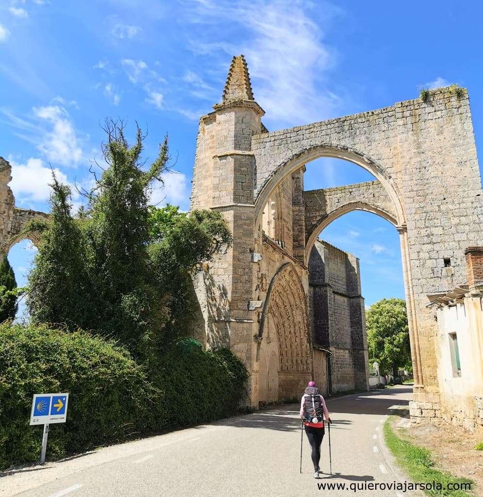 Camino Francés, ruinas del Convento de San Antón