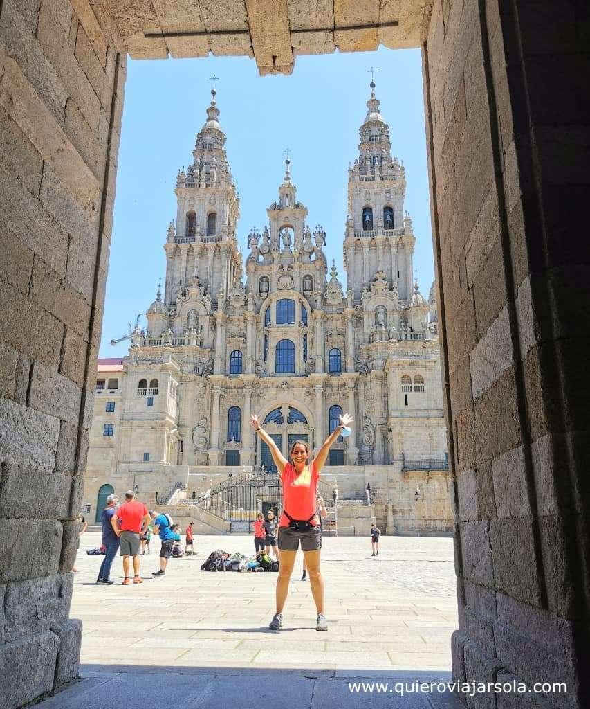Camino Francés, Santiago de Compostela