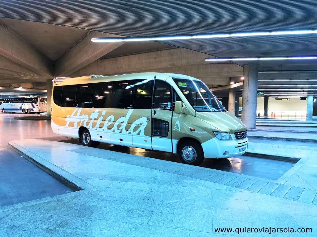 Camino Francés, autobús a Roncesvalles