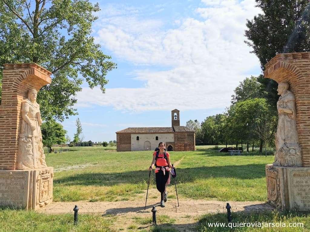 Camino Francés, mitad del Camino