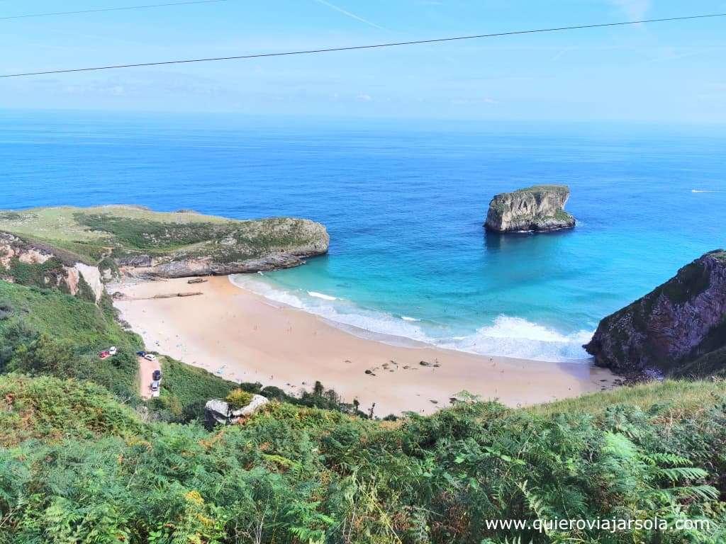 Costa Oriental de Asturias, playa de Ballota