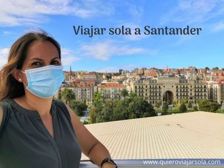 Viajar sola a Santander Cantabria