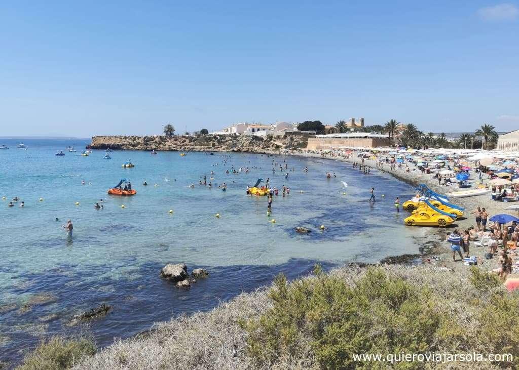 Cómo llegar a Tabarca, playa