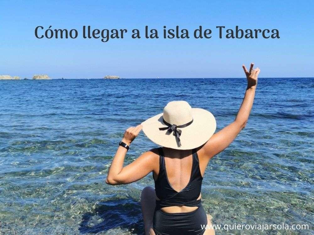 Cómo llegar a Tabarca