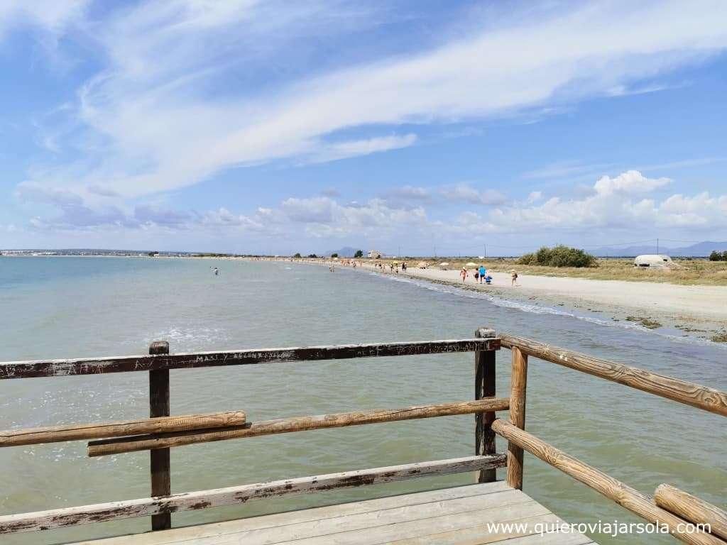 Qué hacer en Santa Pola, playa de La Gola