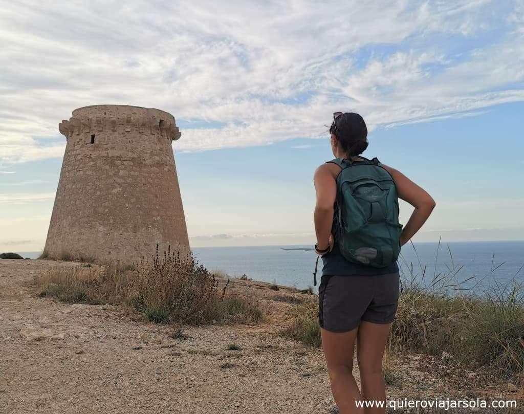 Qué hacer en Santa Pola, senderismo Torre Escaletes
