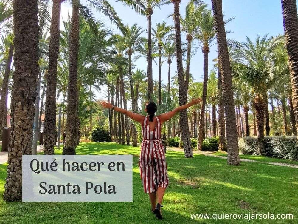 Qué hacer en Santa Pola