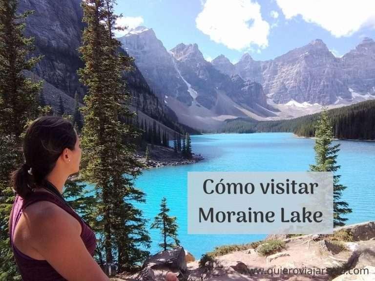 Cómo visitar Moraine Lake