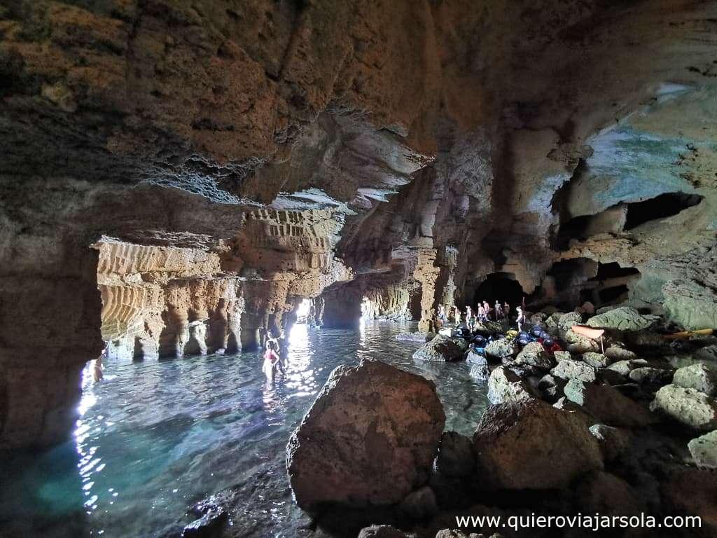 Cómo visitar la Cova Tallada, interior