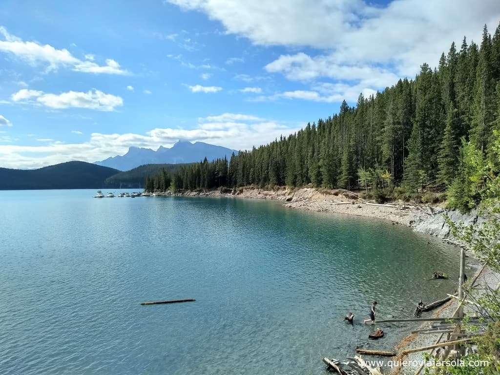 Qué hacer en Banff, Minnewanka Lake