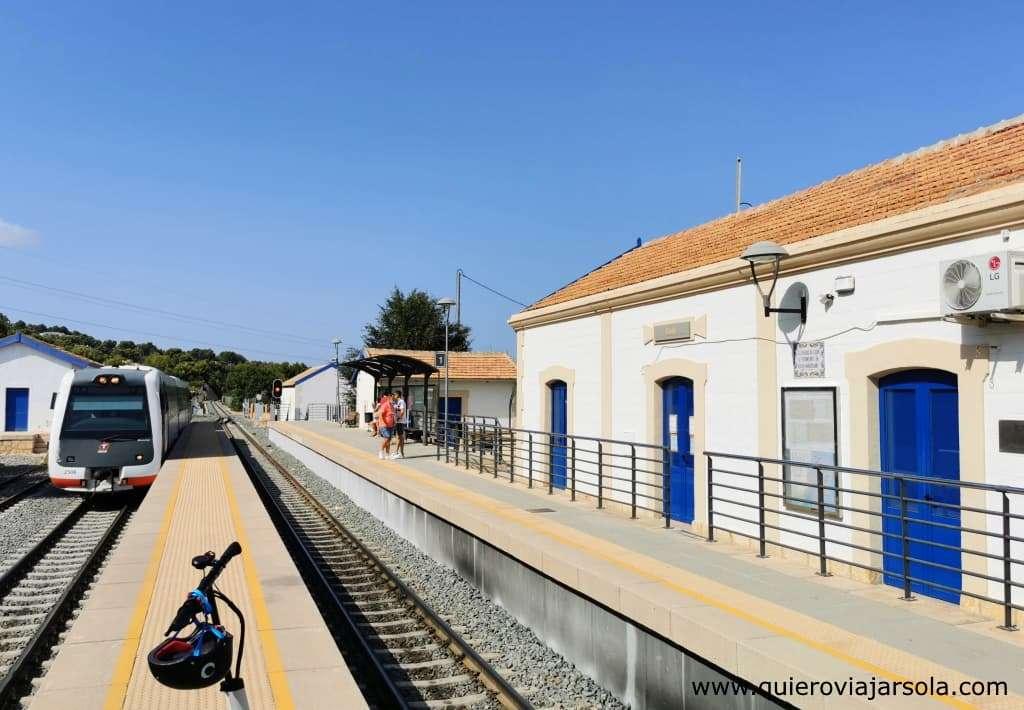 Qué hacer en Calpe, estación Tram Alicante