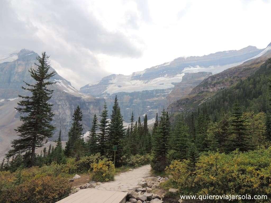 Qué hacer en Lake Louise, sendero Plain of the Six Glaciers