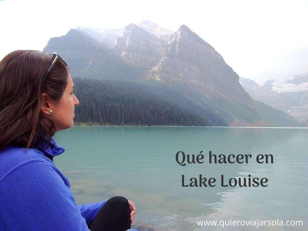 Qué hacer en Lake Louise