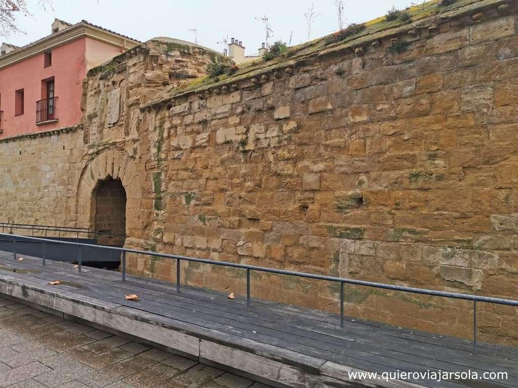 Qué hacer en Logroño, murallas