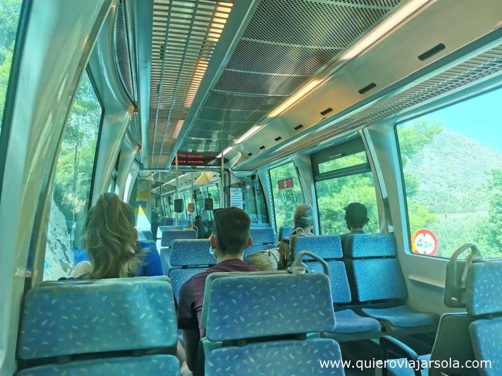 Qué ver en Altea, Tram Alicante