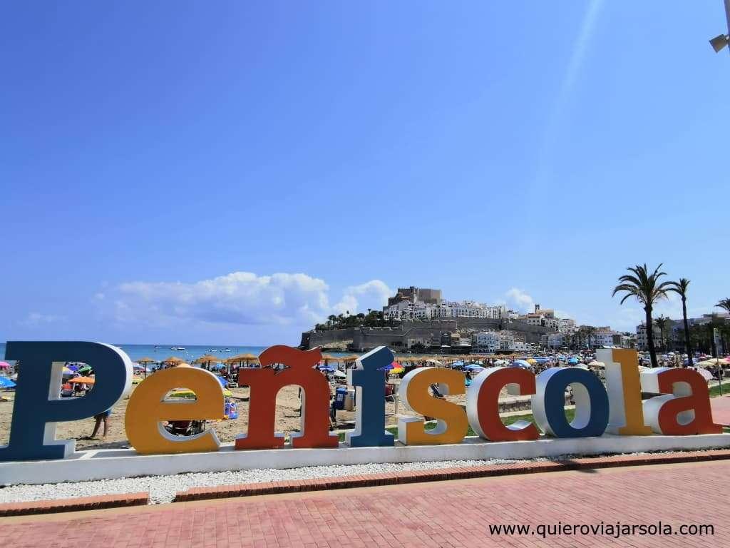 Qué ver en Peñíscola, letras