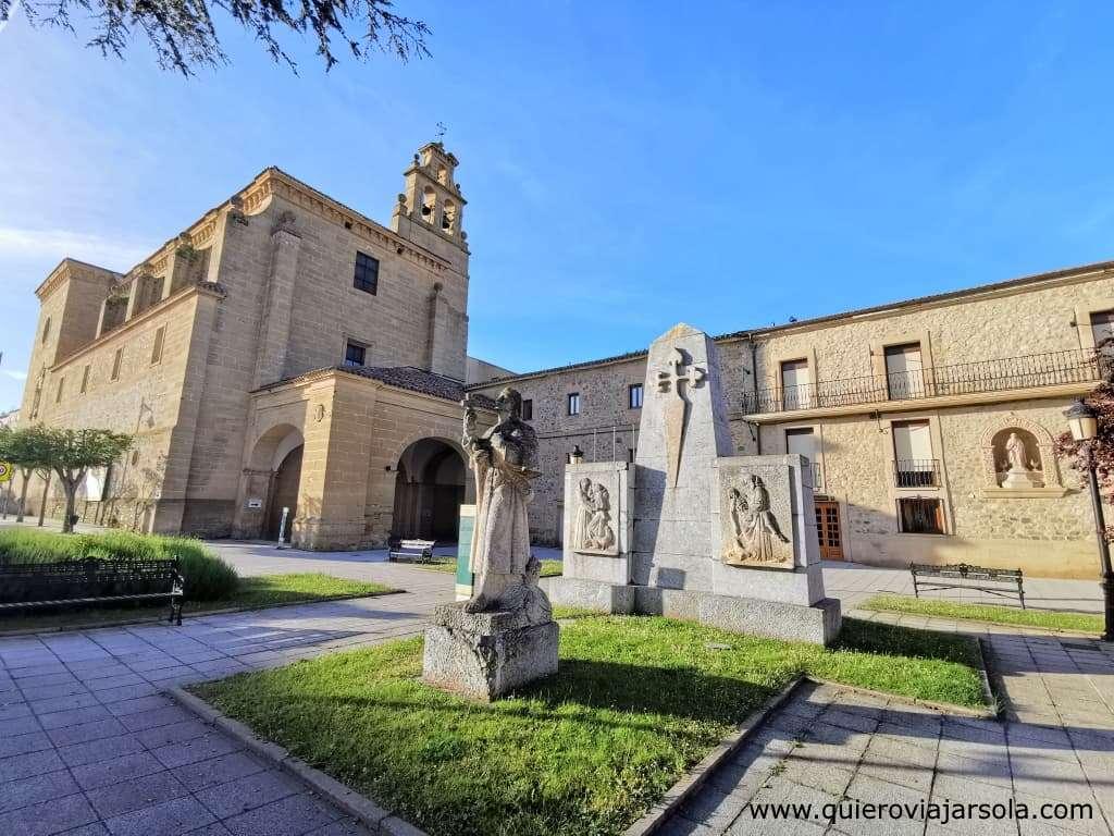 Qué ver en Santo Domingo de la Calzada, Convento de San Francisco