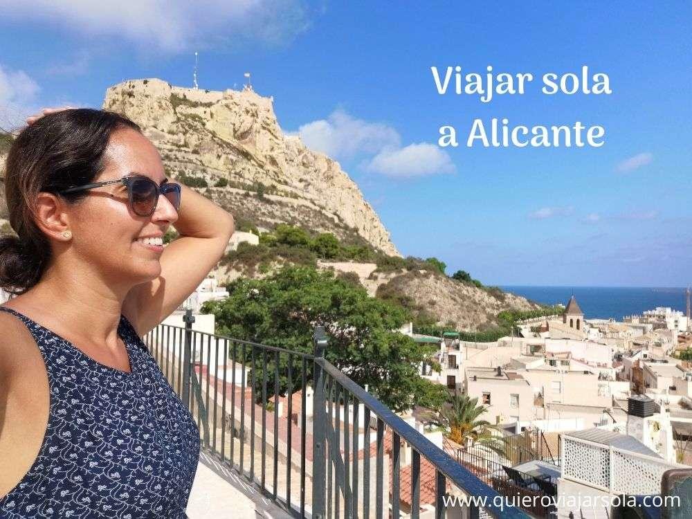 Viajar sola a Alicante