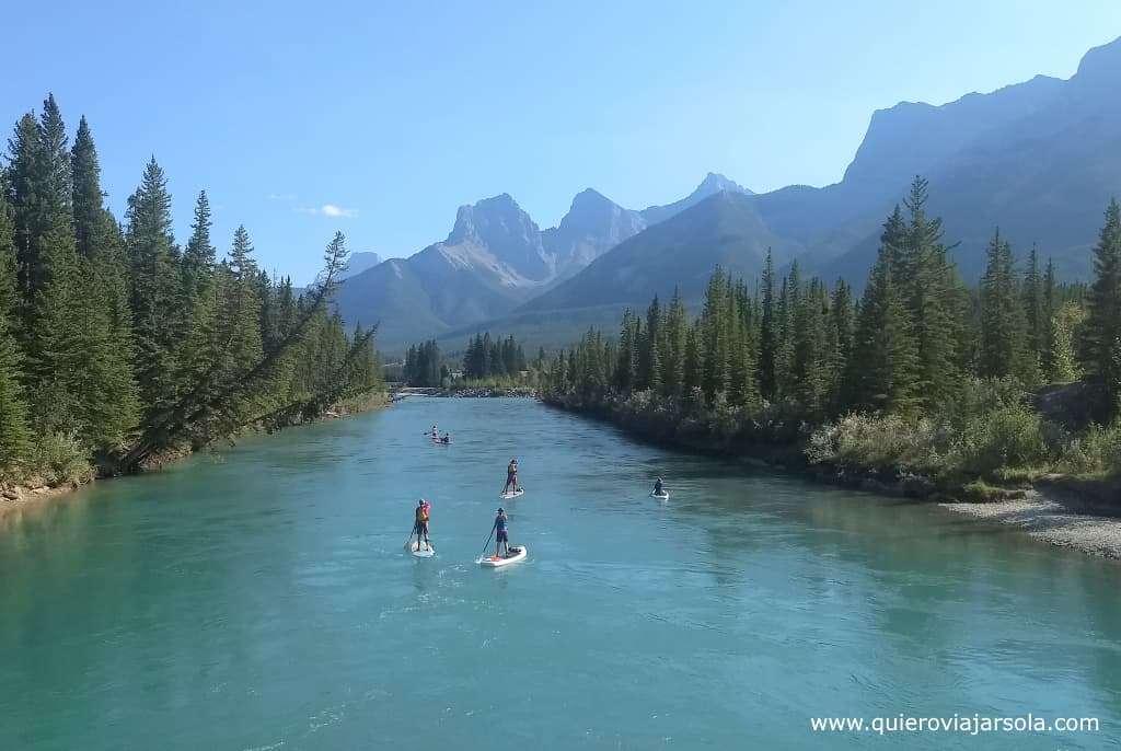 Viajar sola a las Montañas Rocosas de Canadá, Canmore