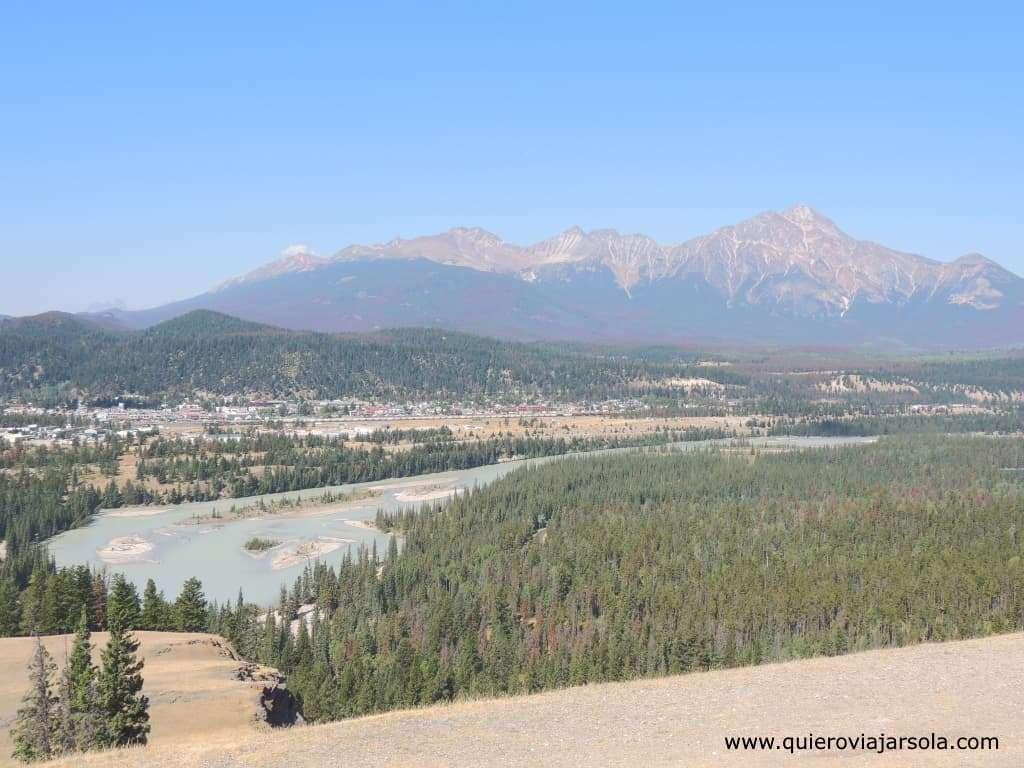 Viajar sola a las Montañas Rocosas de Canadá, Old Fort Point Jasper