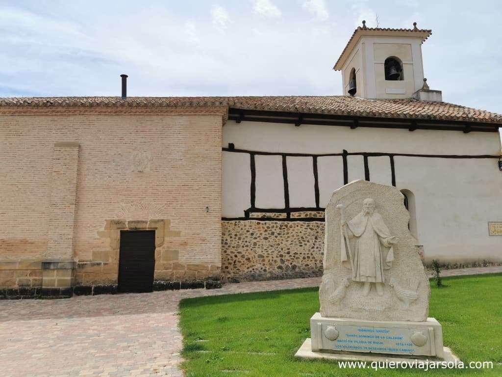 Viloria de Rioja, monumento Domingo García