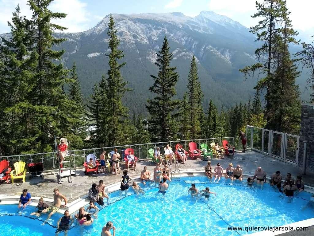 Que hacer en Banff, Banff Upper Hot Springs