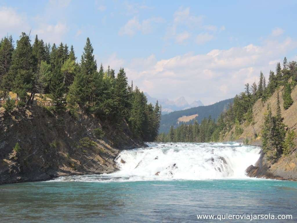 Que hacer en Banff, cascadas Bow