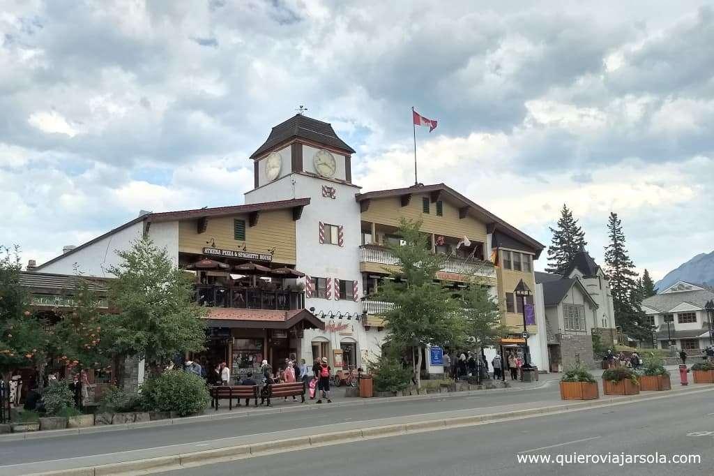 Que hacer en Banff, centro