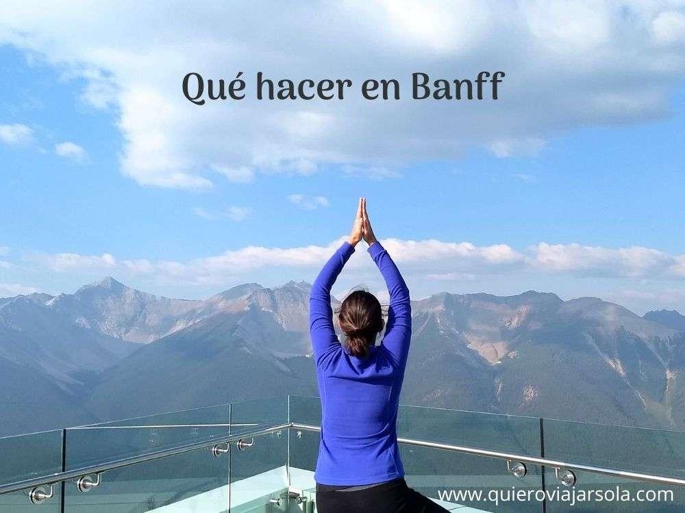 Que hacer en Banff